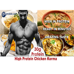 High Protein Chicken Korma
