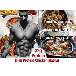 High Performance Meals of Protein Chicken Madras (JUST ADD HOT WATER)