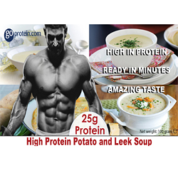 High Performance Meals of Protein Potato and Leek Soup (JUST ADD HOT WATER)