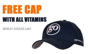 Free cap with every order that includes vitamins or minerals