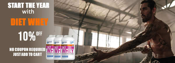 Start the year with a Diet Whey programme!