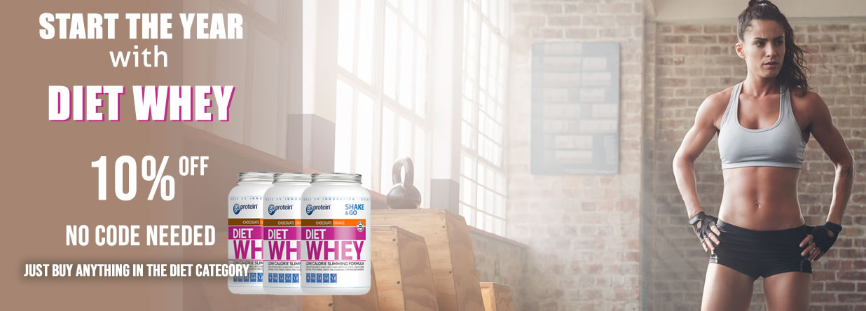 Diet Whey 10% OFF