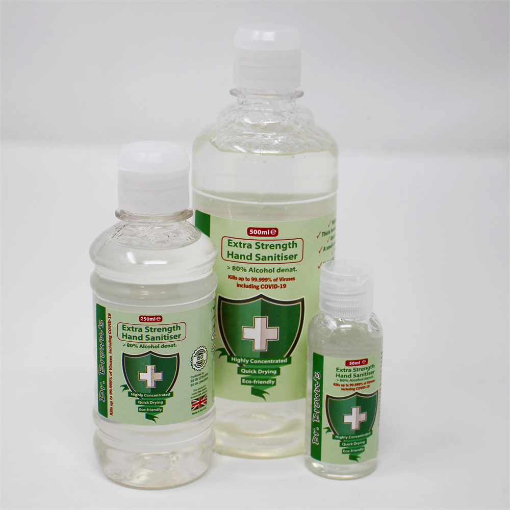 Browns Hand Sanitiser Extra strength 99.99% Effective 3 Sizes
