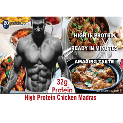 High Protein Chicken Madras