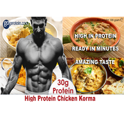 High Performance Meals of Protein Chicken Korma (JUST ADD HOT WATER)